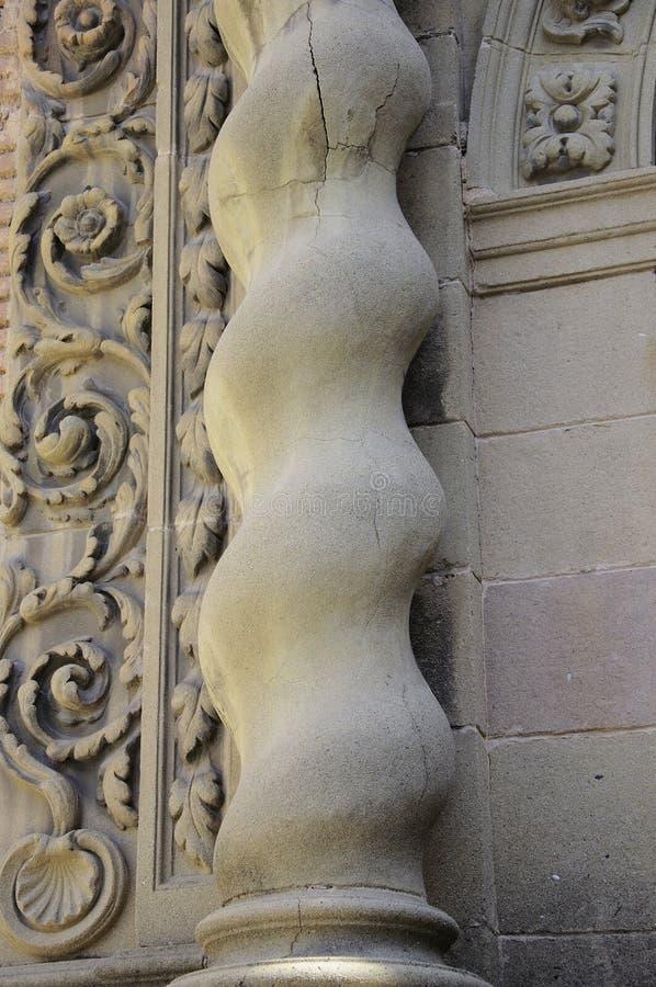 Architectural elements baroque stock photos