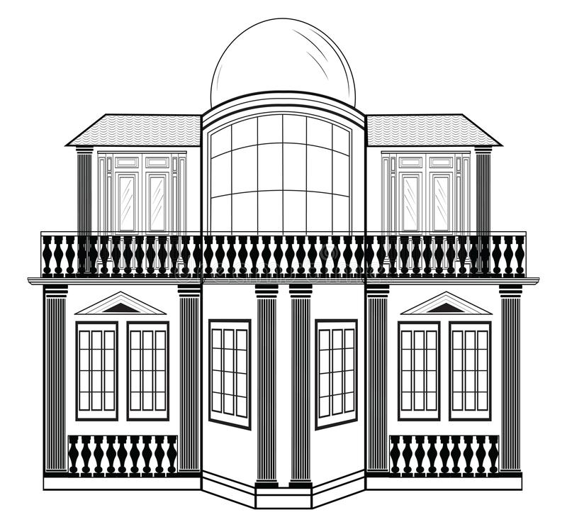 Architectural facade vector stock vector illustration of imperial download architectural facade vector stock vector illustration of imperial isometric 74797085 malvernweather Gallery
