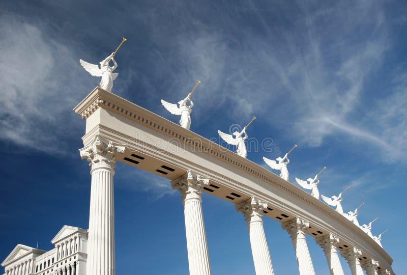 Architectural glitter, Las Vegas, Nevada. Ornate architecture on The Strip, Las Vegas, Nevada stock photos