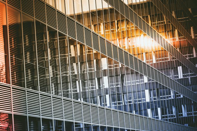 The architectural landscape. Of the commercial building stock photo