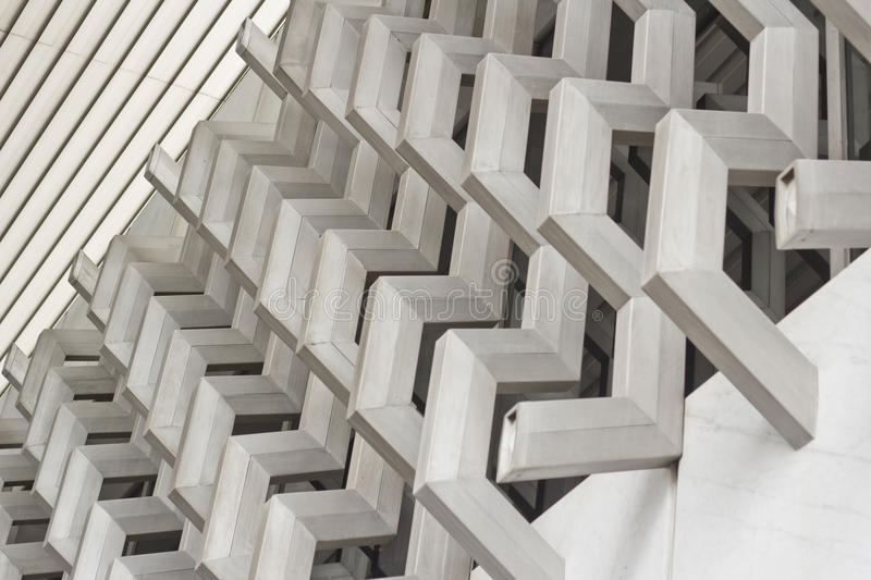 Architectural modern detail royalty free stock photos