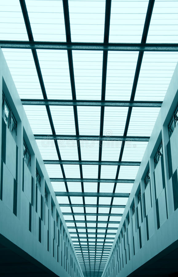 Architectural perspective royalty free stock photography