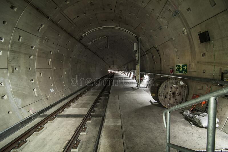 Architectural Photo Of Train Tunnel Interior Free Public Domain Cc0 Image