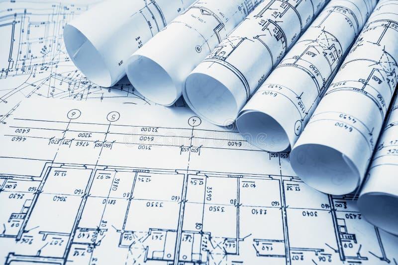 Architectural project blueprints blueprin stock image image of download architectural project blueprints blueprin stock image image of document pattern malvernweather Gallery