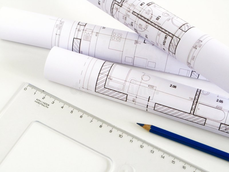 Download Architectural Sketch Of House Plan Stock Image - Image of measurements, construct: 7854909