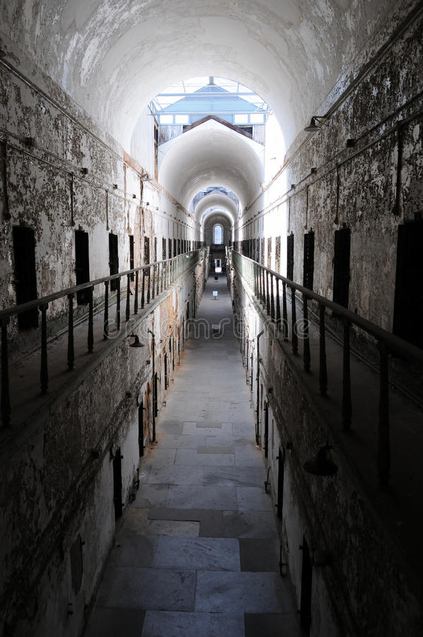 Free Architectural Symmetry At The Eastern State Penitentiary Royalty Free Stock Image - 34997176