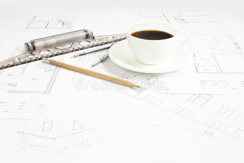 Download Architectural Table. Stock Photo - Image: 41756250
