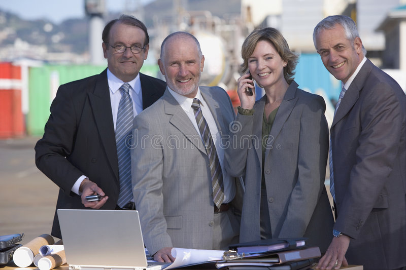 Download An architectural team stock photo. Image of finance, businessman - 3618630