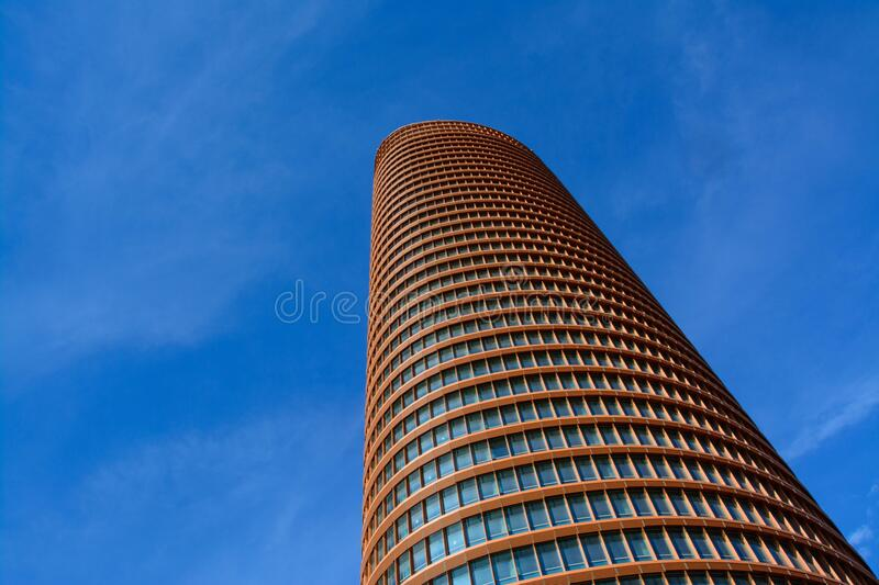 Architectural View of Green Building stock images