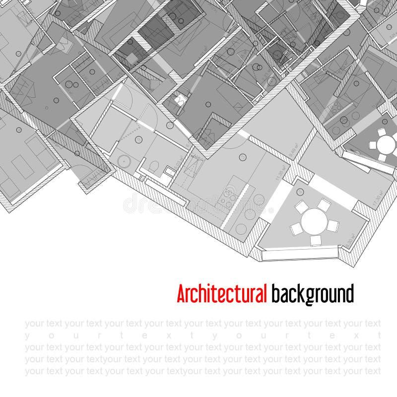 Architecturale achtergrond royalty-vrije stock foto's