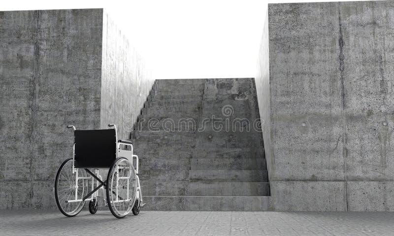 Architecturale barrières stock illustratie