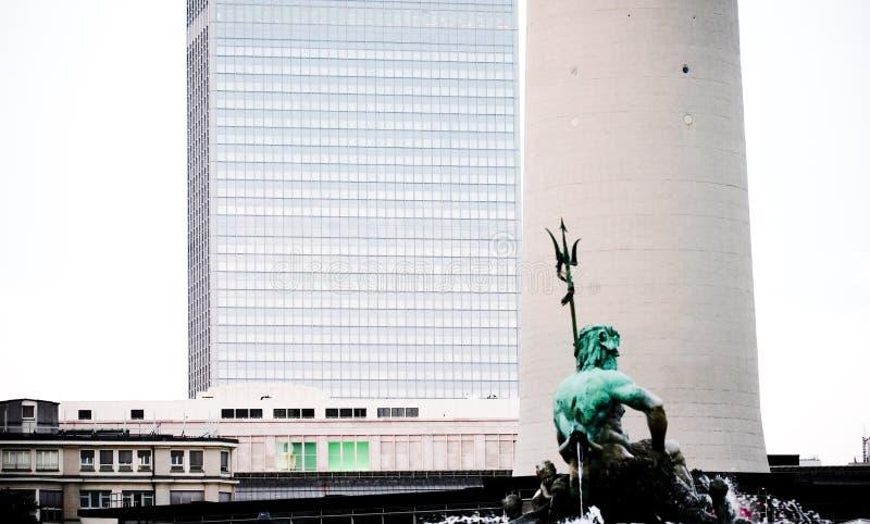 Architecturale contrasten stock fotografie
