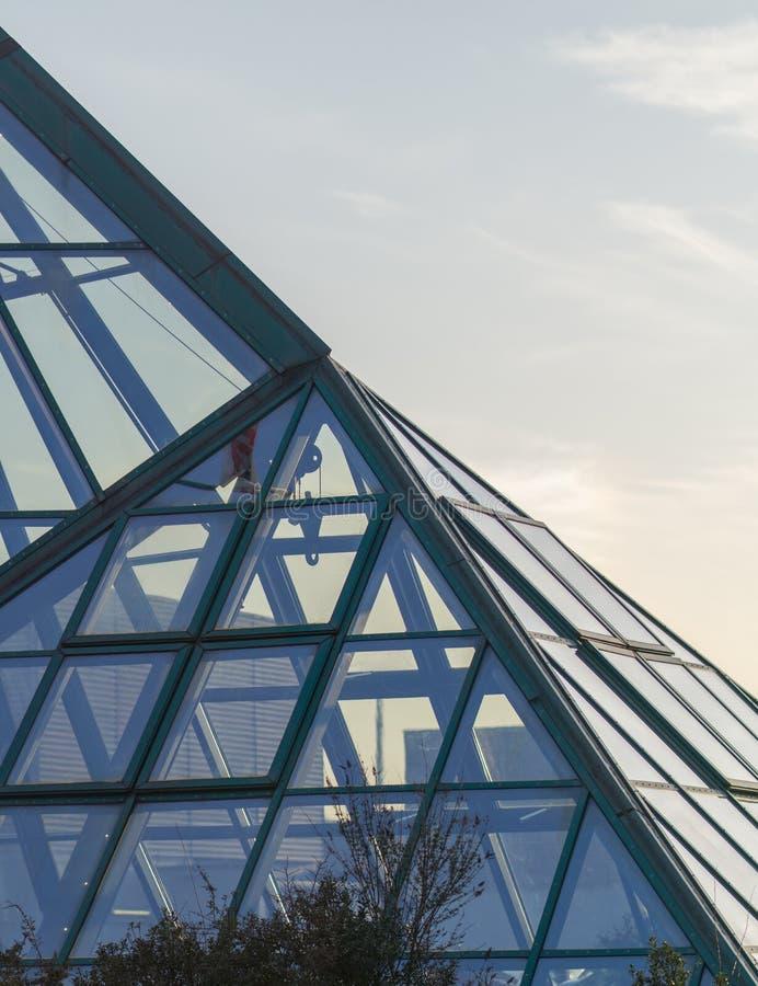 Architecturale dakhemel royalty-vrije stock afbeeldingen