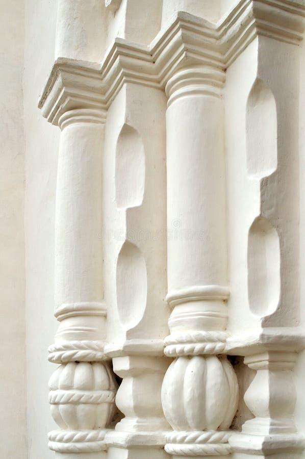 Architecturale elementen van St Sophia Cathedral in Veliky Novgorod royalty-vrije stock afbeelding