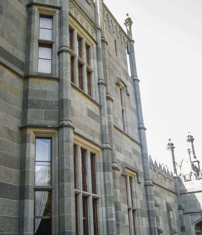 Architecturale oriëntatiepunten van het Schiereiland van de Krim royalty-vrije stock foto