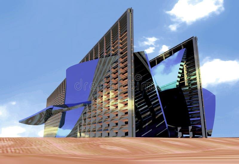 Architecturale vorm royalty-vrije stock afbeeldingen
