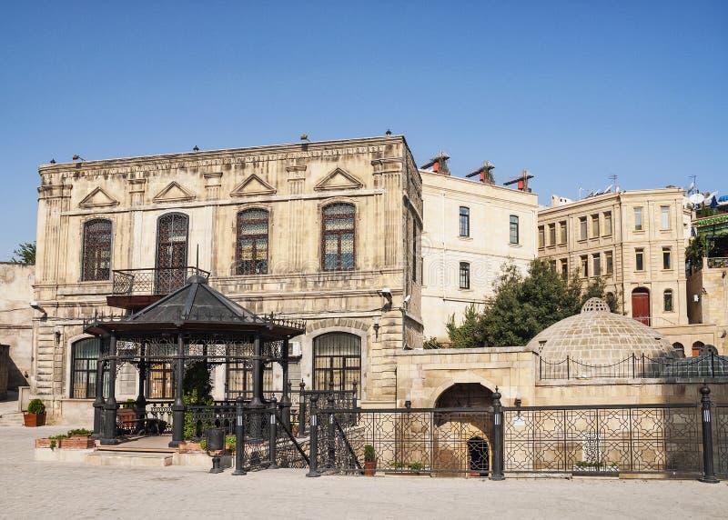 Architecture à Bakou Azerbaïdjan photo libre de droits