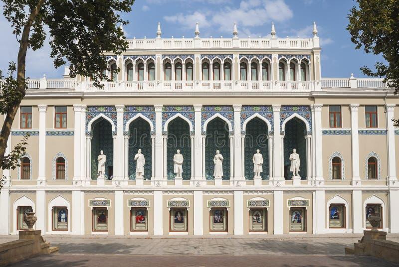 Architecture à Bakou Azerbaïdjan photo stock