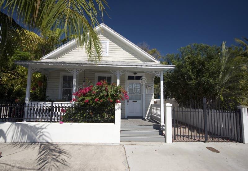 Architecture à la maison type Key West la Floride photo libre de droits