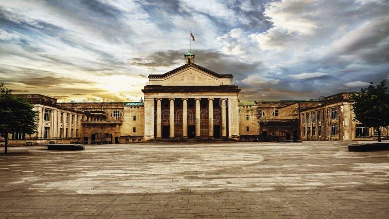 Architecture étonnante de Southampton photographie stock libre de droits