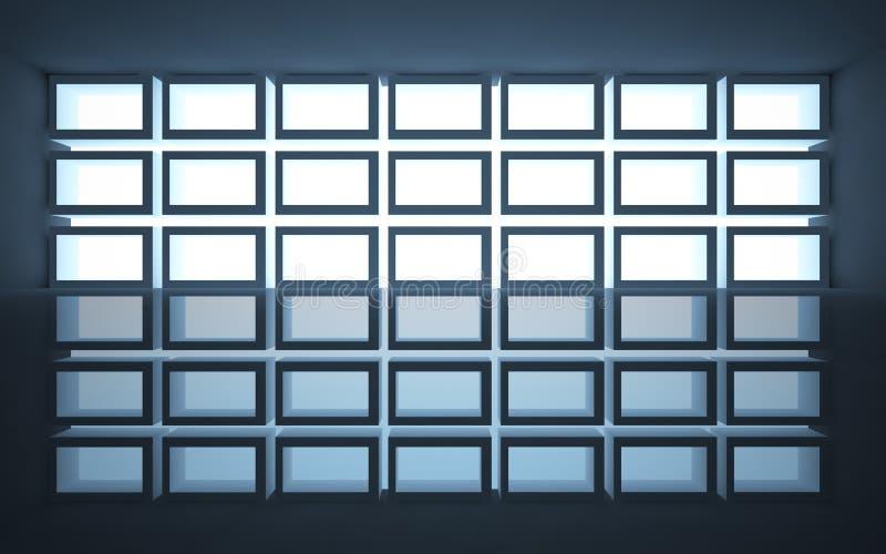 Architecture abstraite illustration libre de droits