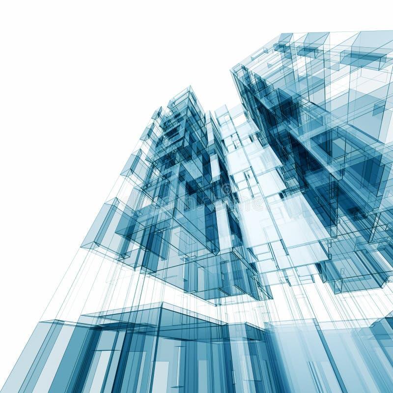 Architecture abstraite illustration stock