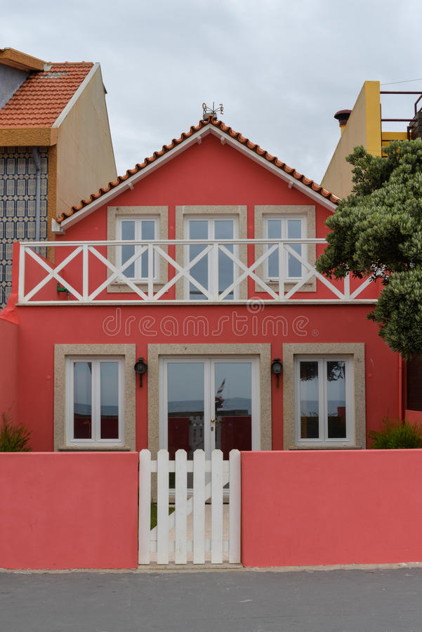 Architecture in Aguda. royalty free stock image
