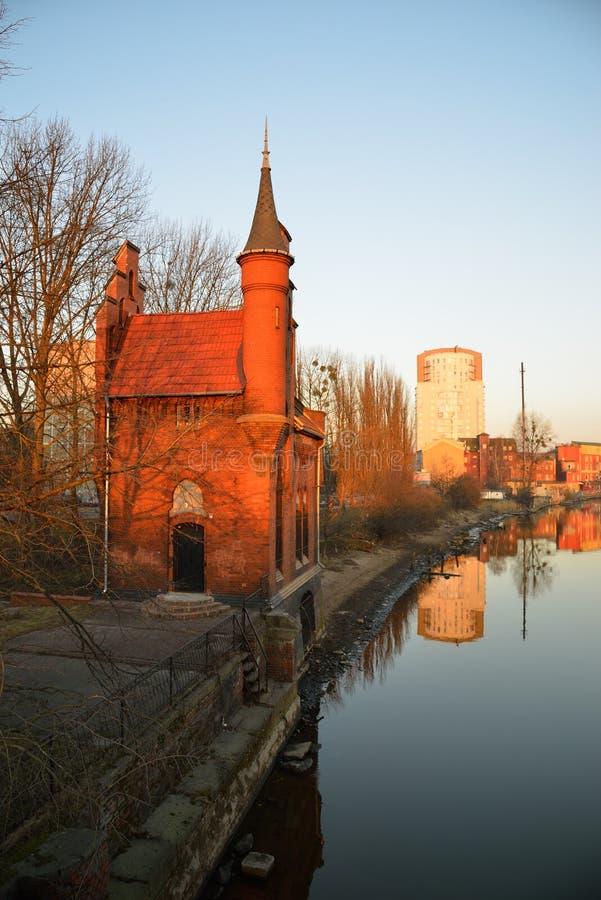 Architecture allemande. Kaliningrad photos libres de droits