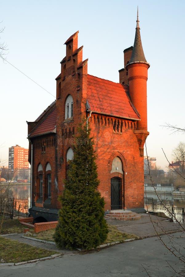 Architecture allemande. Kaliningrad photographie stock