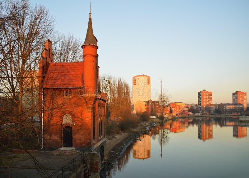 Architecture allemande. Kaliningrad photographie stock libre de droits