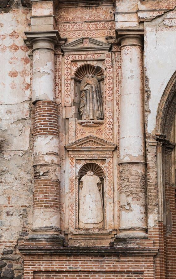 Architecture antique au Guatemala photographie stock