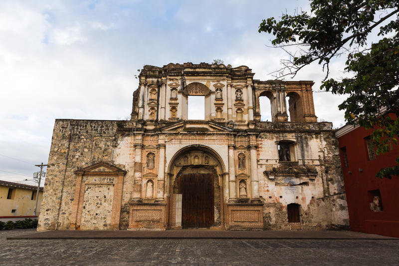 Architecture antique au Guatemala photos stock