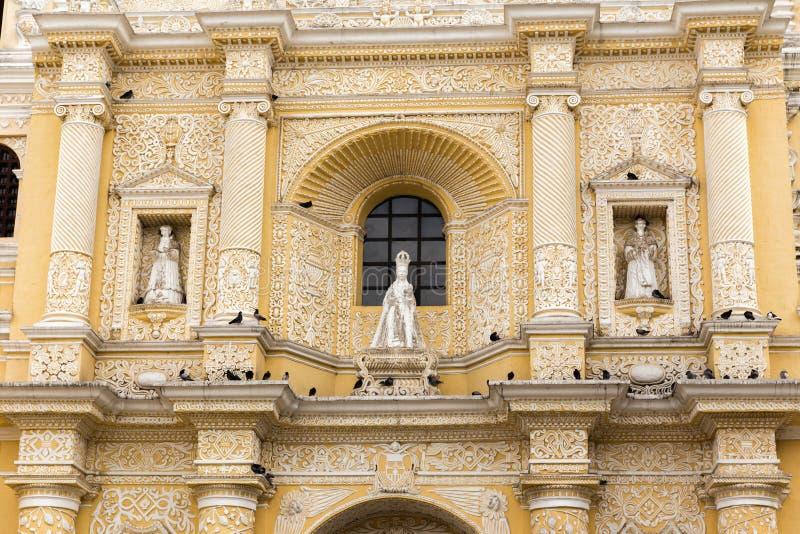 Architecture antique au Guatemala image libre de droits