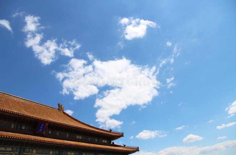 Architecture antique chinoise photo libre de droits
