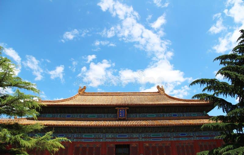 Architecture antique chinoise photographie stock libre de droits