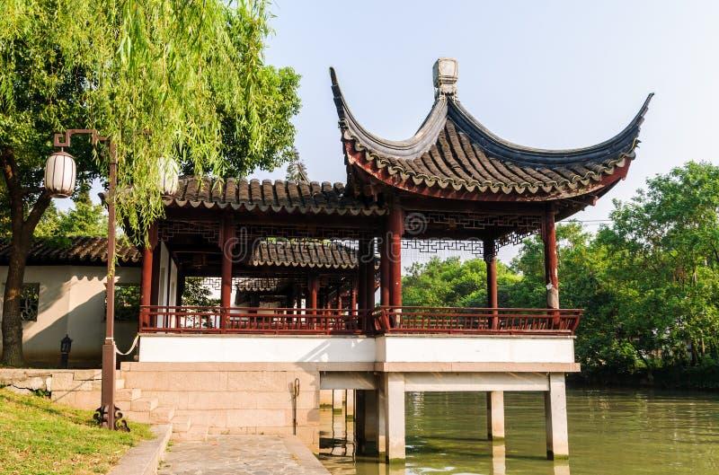 Architecture antique d'érable de Suzhou photo libre de droits