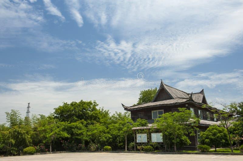 Architecture antique d'érable de Suzhou photos stock
