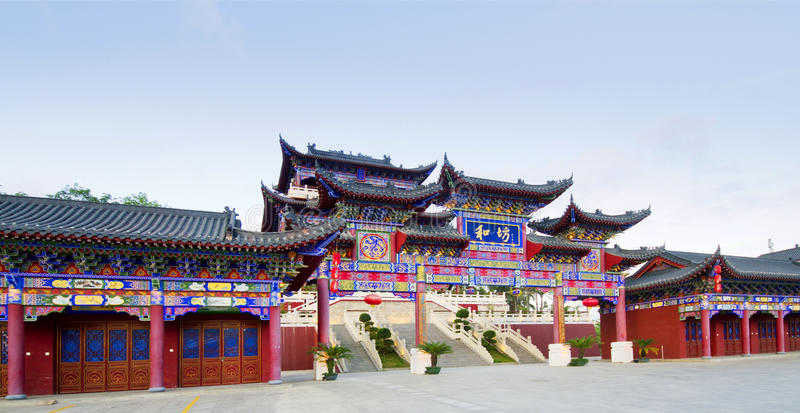 Architecture antique dans Baoting, Hainan image libre de droits