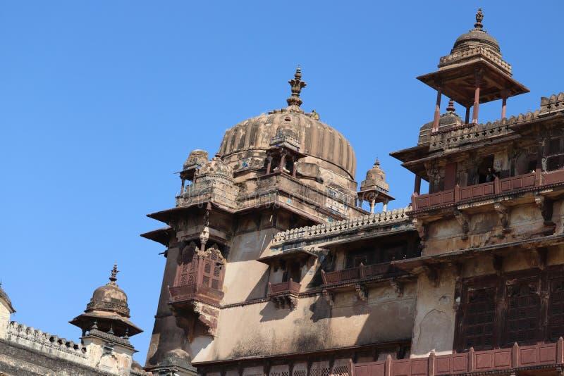Architecture antique de fort de guerrier indien de Rajput photographie stock libre de droits