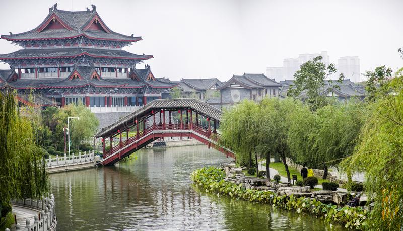 Architecture antique de la Chine photos stock