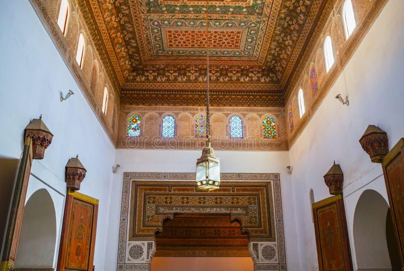 Architecture arabe à Marrakech photo stock
