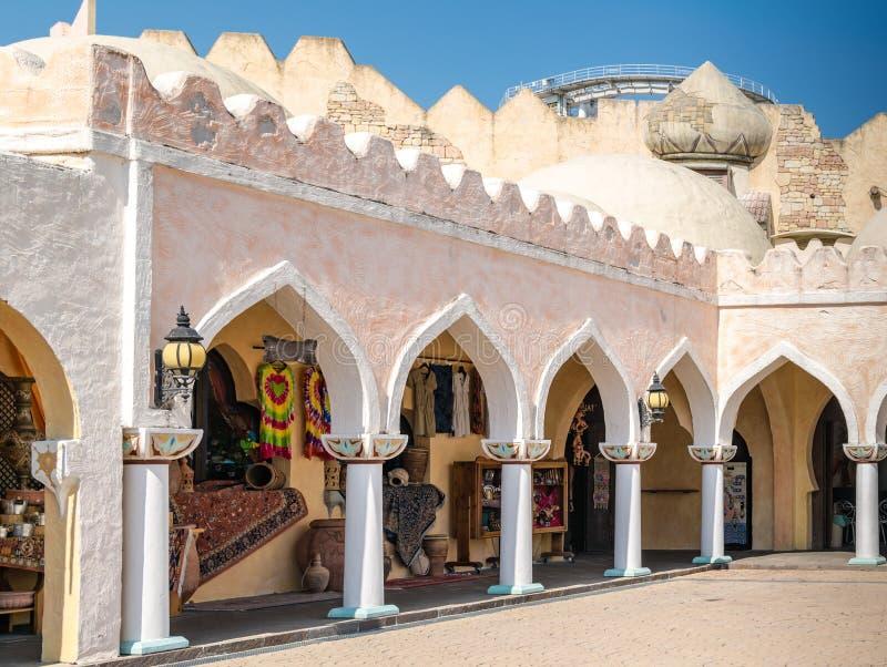 Architecture arabe typique photographie stock libre de droits