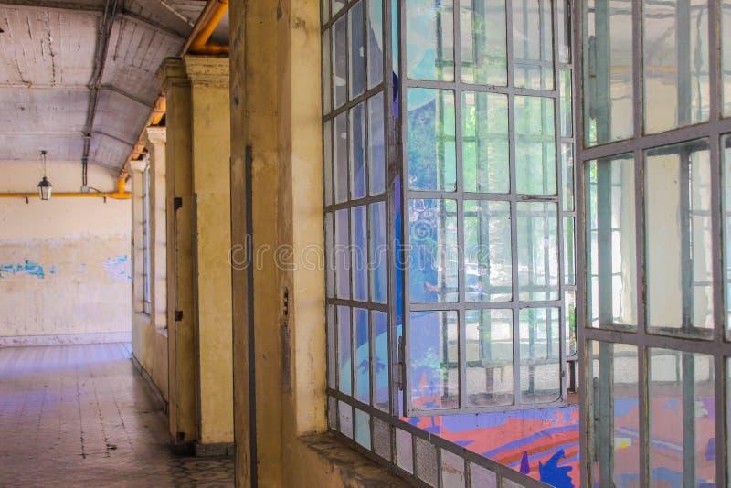 Architecture architecturale détaillée de la fenêtre Vintage photos libres de droits
