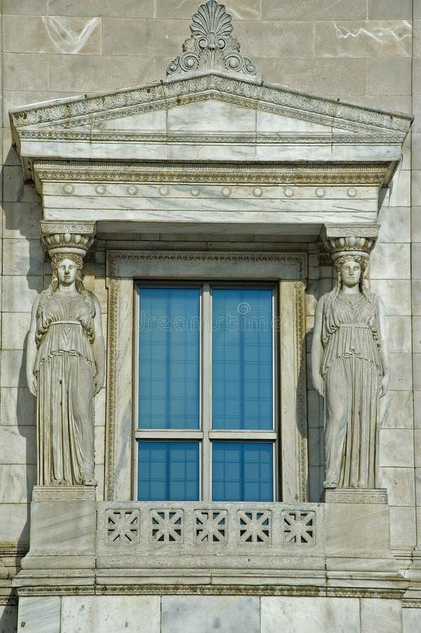 Architecture au musée Chicago de zone images libres de droits