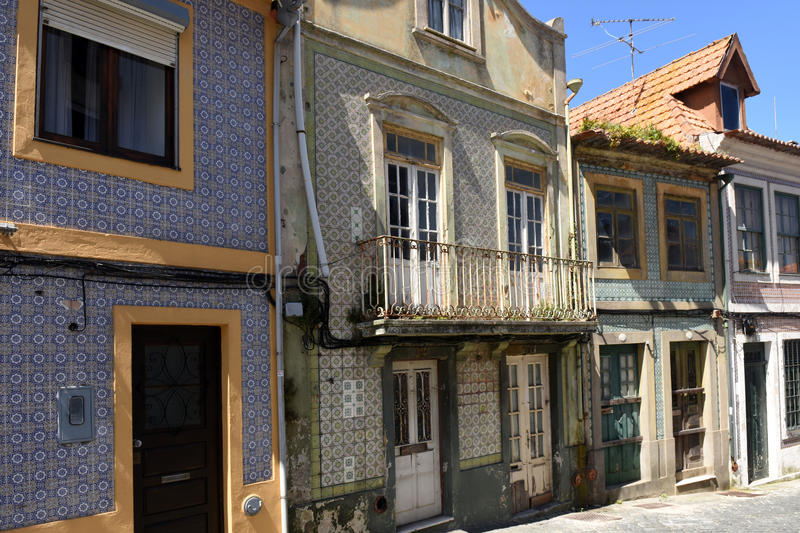 Architecture in Aveiro, Beiras region,. Portugal stock image