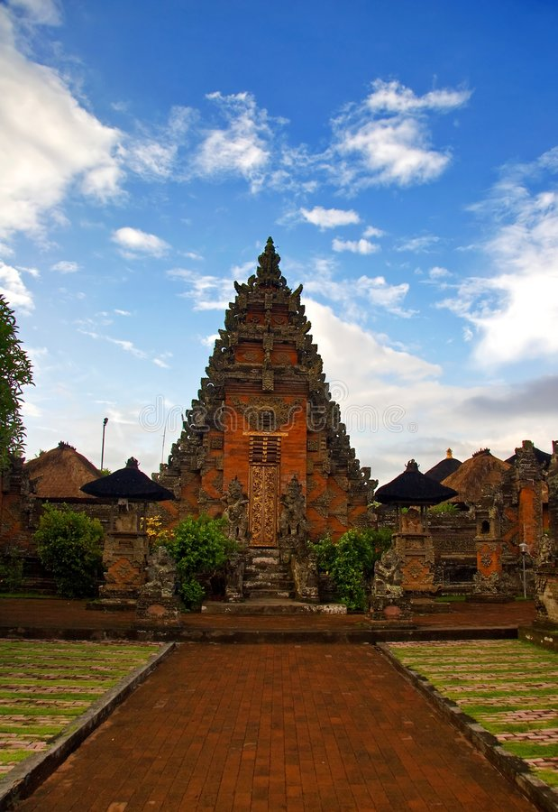 architecture bali traditionnel images stock
