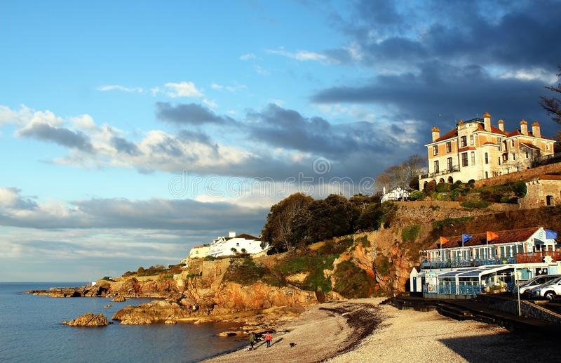 Architecture, Beach, Buildings royalty free stock photos