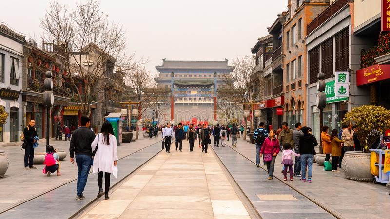 Architecture of Beijing, China stock images