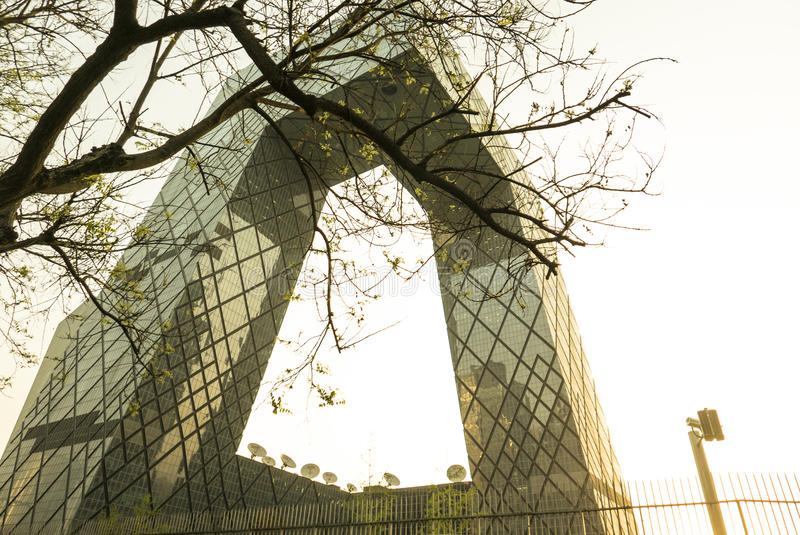 Architecture in Beijing royalty free stock photography
