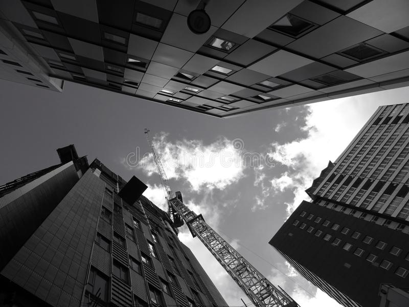 Architecture, Black-and-white, Building royalty free stock photos